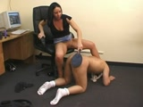 Femdom in the office