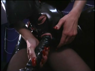 Rubber Misstress and Latex Slave