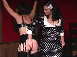 Fetish Mistress and her slave