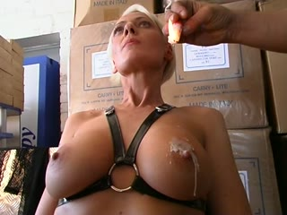 Big Boobs Candle Waxed