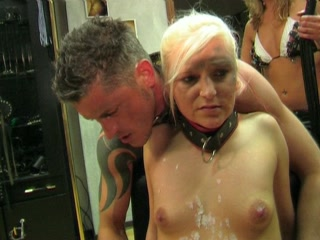 Dominant goddess and female slave