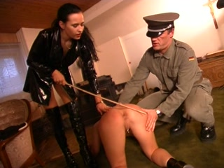 Female Slave Punished and Fucked