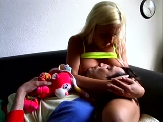 Femdom Babification and Breast Feeding