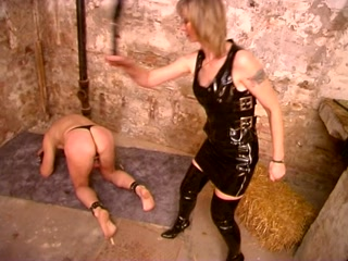 Corporal Punishment with two FemDoms