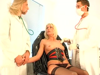 Kinky medical BDSM porn