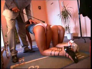 Spanking beautiful ass BDSM Punishment