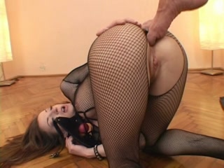 Sexy BDSM slut pleases her master