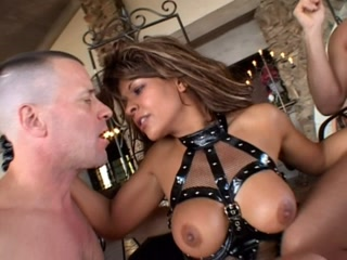 Submissive woman tops from the bottom