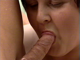 Fat mature fucking and sucking dick