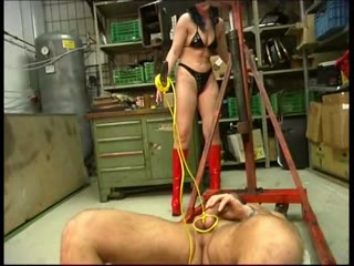 Cock and Ball Suspension Bondage