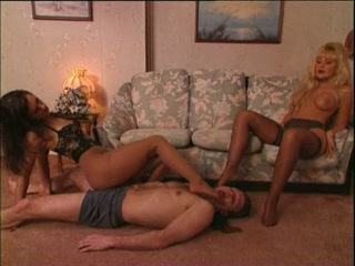 Submissive Male Double Dominated