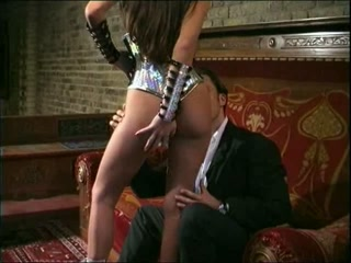 Femdom Goddess and her male sex slave