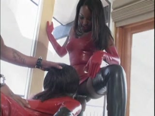Kinky Latex Threesome